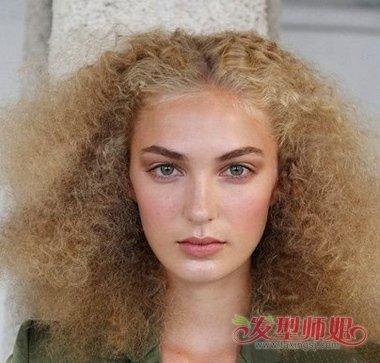 中分中长发麦穗烫发型-麦穗烫适合什么发型 麦穗烫的中长发发型 发型图片