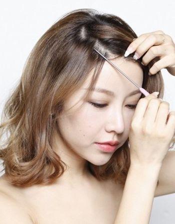 韩式无刘海短发怎么扎好看 无刘海中短发扎发发型教程