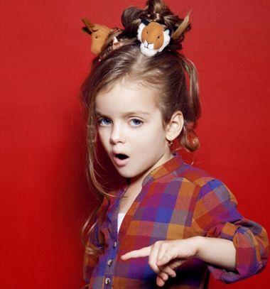 八岁女孩盘发发型 2016年最新女孩盘发发型设计(2)