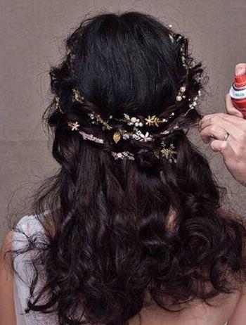 新娘盘发 >> 韩式新娘盘发发型图解 超新新娘韩式盘发发型(3)  2016