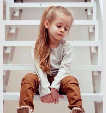 儿童的头发怎样扎辫子 小孩扎小辩发型图片图片