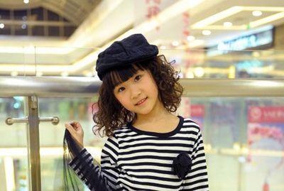 儿童短发烫发发型(3)