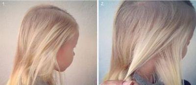 女童长发辫发型扎法 儿童13岁短发型绑扎方法图片