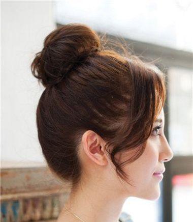 韩式短中发烫发发型 韩国短发烫发发型图片(3)