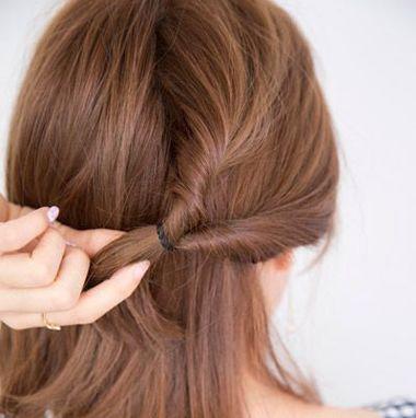齐刘海头发短发怎么扎好看 齐刘海短发发型扎法图片