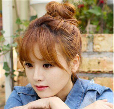 高中生长头发扎什么发型可爱 适合高中女生扎起来的发型(3)图片