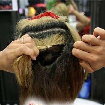 发型设计 剃掉头发后面的图案 > 男发型两边剃掉头发扎在一起  男发型图片