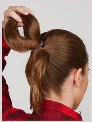 儿童盘发发型图片步骤