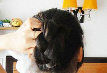 小孩11岁发型扎法 小孩发型扎法图步骤(3)