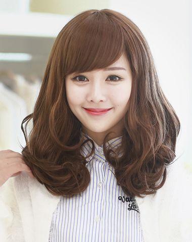 发型设计 卷发 >> 头发很多的女生该烫什么发型 头发多的人适合烫的