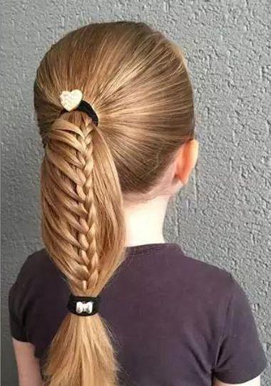 怎样编小孩发型大全 女童发型编发大全图片