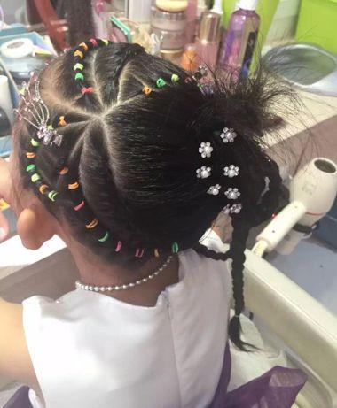 儿童盘发发型图片全集 儿童的最新盘头发型(3)图片
