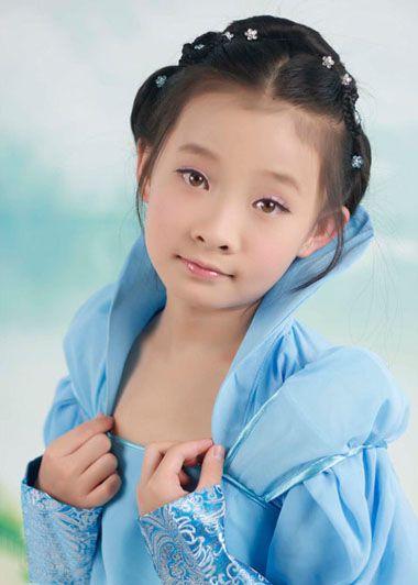 儿童盘发发型图片全集 儿童的最新盘头发型(4)