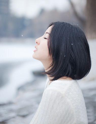 不用烫的女生短发图片 不用烫的时尚短发 发型师姐