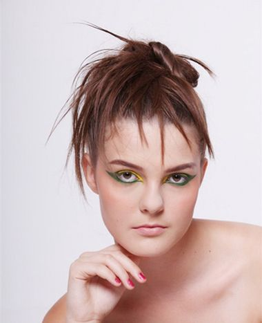 没刘海沙宣短发怎么扎好看 没刘海女生发型图片