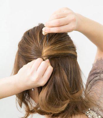 学生简单的短发发型扎法 中学生清纯发型扎法