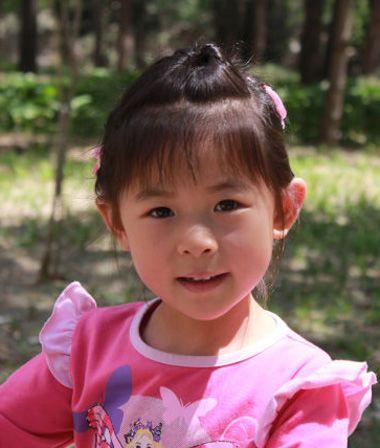婴儿短发扎发发型图片 小孩短发发型扎法图解 发型师姐图片