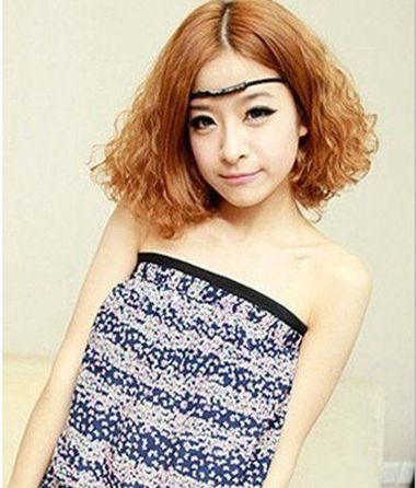 中分大卷小麦穗烫发发型-麦穗烫应该怎么烫 小麦穗烫的图片 发型师姐图片