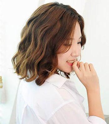 女生短发玉米烫发的种类 女生超短发玉米烫(3)