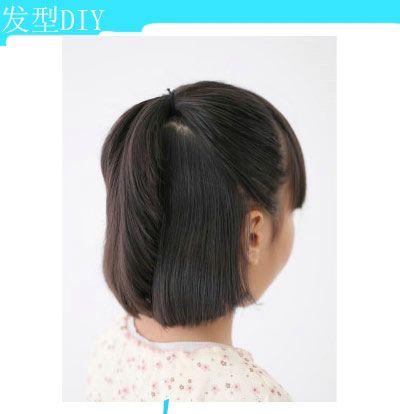 给小孩扎发型怎么弄短发 小孩头发短扎什么发型好看