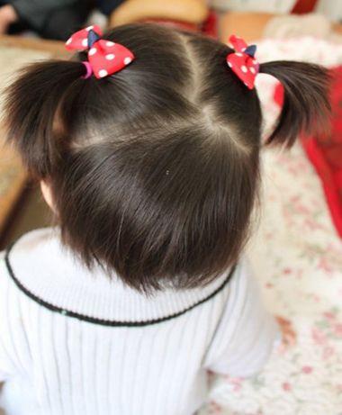 教扎漂亮头发图片 步骤