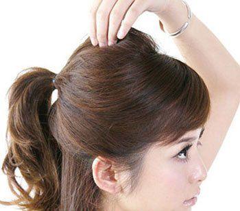 如何盘简单古代发型 古装简单发型盘发教程图片