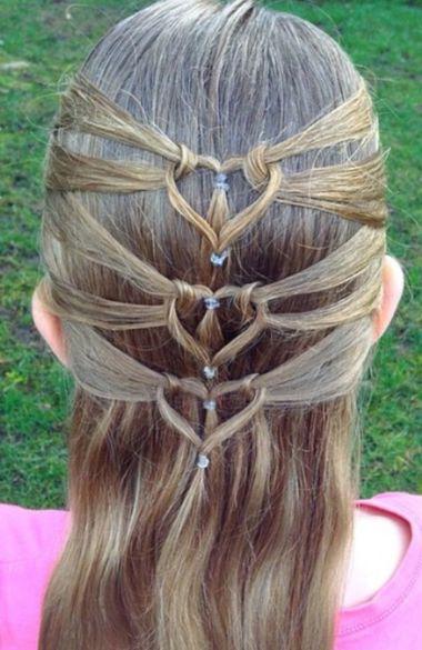 小女孩怎样扎头发发型设计