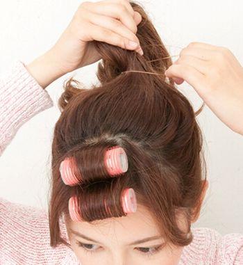 学生怎样盘好看的头发 韩式学生盘头发(2)_发型师姐图片