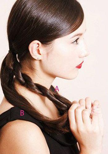 圆脸如何扎出好看的发型 圆脸适合的发型扎法(3)图片