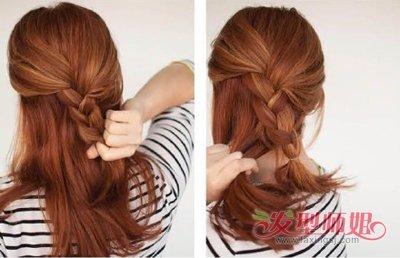 平常可以盘的发型 女生长发盘发发型设计步骤