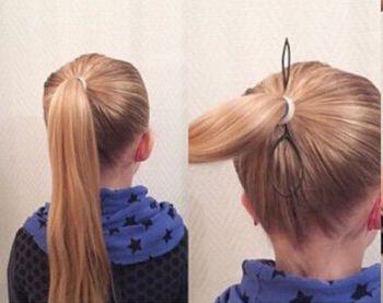 发型设计 儿童发型 >> 四岁女孩头发怎么编 4岁小孩编漂亮头发  三四图片