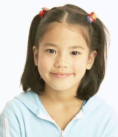 韩式儿童简单发型绑扎方法 小女童短发型绑扎方法