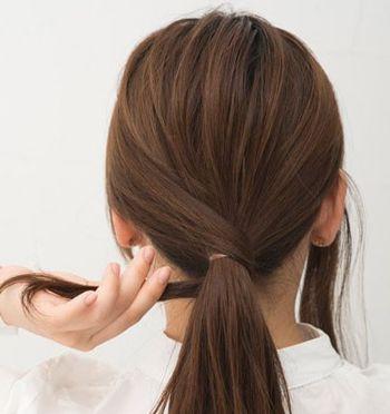 发型的扎法步骤及图片