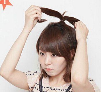 学生扎的发型好看适合中学生的简单长直发发型半护胸初中生图片