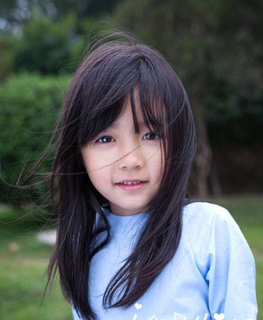 小孩梳头发好看的方法 不要编小辫的小孩子发型图片