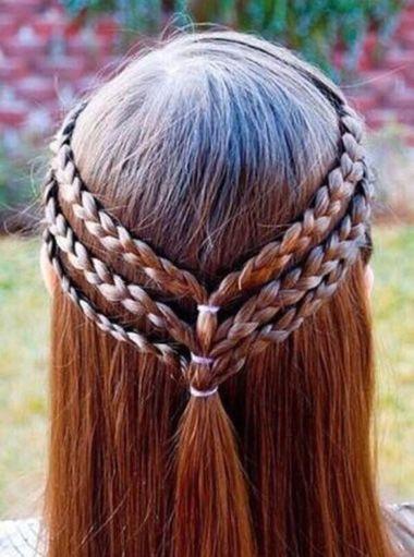 韩式编发发型图片步骤