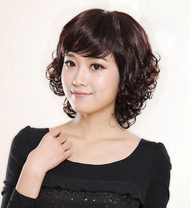 中年妇女小卷烫_中年女齐肩烫头发发型 中年发型螺丝烫_发型师姐