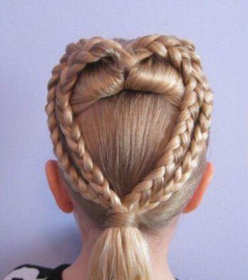小女孩发型怎样扎最漂亮 漂亮小女孩发型扎法(4)