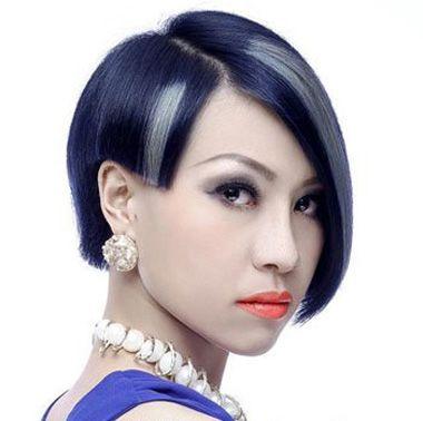 2016-03-05来源:发型师姐编辑:jane 分享到  棱角分明的沙宣 短发发型图片