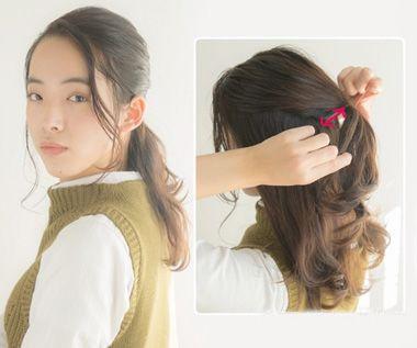 怎样扎好看的露额头发 露额头扎头发简单好看的步骤(3