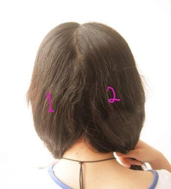 5岁儿童短发发型扎法 5岁儿童扎发型图片