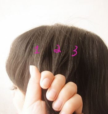 5岁儿童短发发型扎法 5岁儿童扎发型图片图片