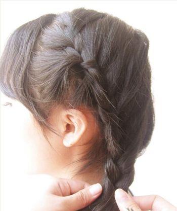 5岁儿童短发发型扎法 5岁儿童扎发型图片(2)