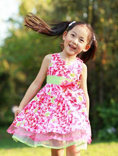 10岁有刘海小女孩 夏天怎样扎头发既简单又好看又不会热 发型师姐图片
