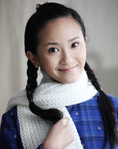 简单美丽的发辫无刘海设计 古风无刘海发型(3)图片