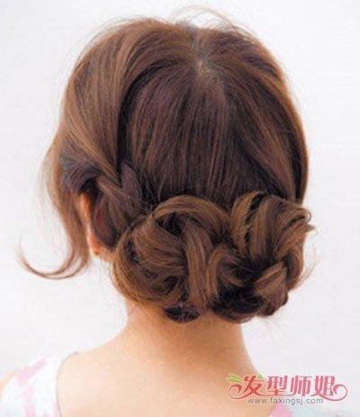 白领盘简单大方的发型 白领流行盘发发型(2)