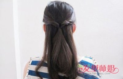 小学生编头发盘发的步骤及图片