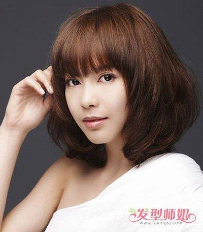 中年人怎么打理刘海 适合30岁女人的刘海发型(3)图片