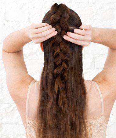 发型怎样编股 发型编发图解及步骤(4)