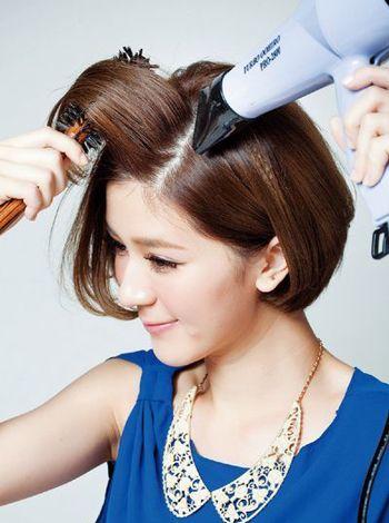 发型打理攻略女生短发怎么弄 方便打理的短直发发型(2图片